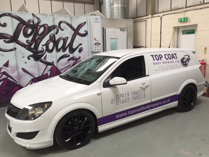 Car Body Repairs Norwich - Top Coat Body Repairs